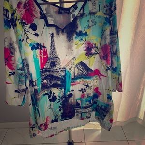 Bright fun summer shirt